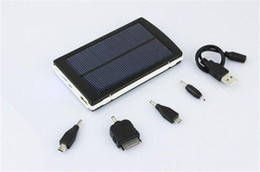 Wholesale 30000 mah Solar Battery Chargers mAh Portable Double USB Solar Energy Panel Power Bank For Mobile Phone PAD Tablet MP3 MP4