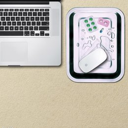 Custom anti-slip and waterproof mouse pad sticker with PVC