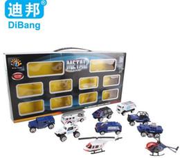 educational toys for children police car set model car