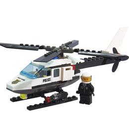 Wholesale Aircraft Airplane Model Building Blocks Plane Aeroplane DIY Educational Toys Kids Gifts
