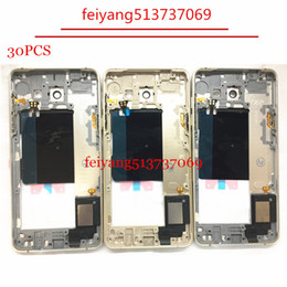 30pcs Original Metal Middle Bezel Frame Case for Samsung Galaxy A5 2016 A510 Housing with Small Parts