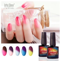 Wholesale ml Arte Clavo Color Temperature Change Color Nail Gel Polish Gel Vanishes UV Gel