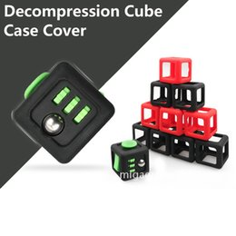 Newest Protective Silica Cover Case for Fidget Cube Toy Protect Cases Stress Anxiety Release Decompression Magic Cube