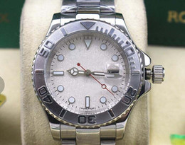 Factory wholesale sellers luxury watch brand MENS STEEL PLATINUM 16622 RUBY MOTHER OF PEARL YR