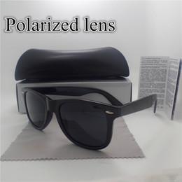 2017 lentes polarizadas Lente polarizada lente de la vendimia del deporte de la protección de la gafas de sol de las nuevas mujeres de los hombres de la marca de fábrica de la marca de fábrica del diseñador Eyewear retro con la caja y el caso lentes polarizadas promoción