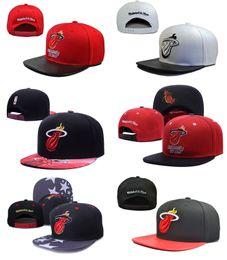 Descuento sombreros de los deportes de la ciudad 2017 Miami Ciudad Sombreros Hombre Hiphop para Hombre Deportes Cap Equipo de Baloncesto Ajustable 47 Fifty equipado Snapback Headware