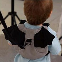 Wholesale Baby Kid Keeper Toddler practical Harness Backpack Bag Strap Rein Baby Gold bug Anti lost Walking Wings Bags Backpacks styles