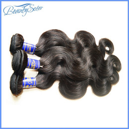 beautysister hair products 8a peruvian virgin hair body wave mix 3bundles 300g lot 100% human hair weaves extensions natural black color