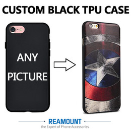 150 pcs UV Print Soft TPU Cover 3D Silicon Shell Phone Bag For iPhone 7 7 plus phone case For iPhone 6 6 plus