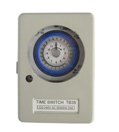 TB35 Mechanical Time Switch 24 hour with battery is suit for water heater, Water dispensers, Street lamp, Staircase lamp and so on