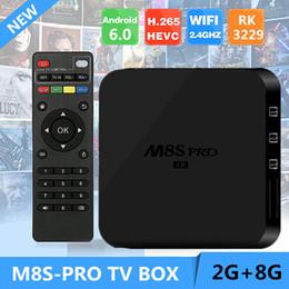Pc hd en Ligne-Kodi Box M8S pour Android 5.1 RK3229 X92 4K Smart Media Boîtes 2gb 8gb MXQ 4K plus tvbox Mini PC Kodi 16.1 entièrement chargé