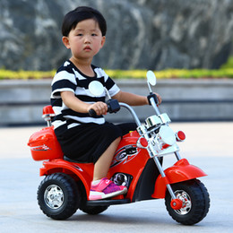 New style baby electric motorcycle with Light music Toy car A storage battery car With rechargeable lights Drive type single driveBaby car