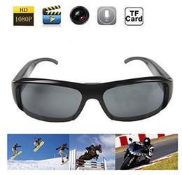 32GB Venta caliente HD 1080P Spy Eyewear Video Recorder deportes gafas de sol de la cámara de grabación de vidrios ocultos DVR videocámara portátil para exteriores hot selling spy camera promotion desde cámara espía venta caliente proveedores