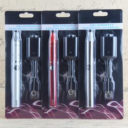 EVOD 900 mAh herbal vaporizer Evod vape pen Mini ago g5 Vaporizer Blister Starter Kit e Cigarette evod e cig vaporizer dry herb starter kits