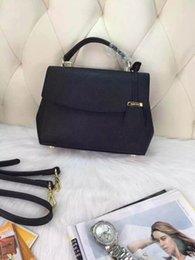 Wholesale Best Quality Fashion Italy Brand Female Bag New Designer Brand Lady Messenger Bag Genuine Leather Handbag Shoulder Bag Ladies Free Ship