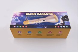 Wholesale Magic Karaoke K088 Wireless Microphone handheld Bluetooth Speaker Micro phone kids adult christmas gift Mic for IOS Android Smartphone