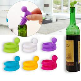 Bouchon de bouteille de vin charms set de cadeau économiseur d'air fabricant de verre scellant en silicone garder fraîcheur barman bar outils accessoires de vin à partir de verre bouchons de vin fabricateur