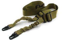 Vente en gros Double point de sangle tactique Multifonctionnel sangle Rifle fusil de chasse Bouilloire bouilloire escalade sécuritaire tactique Sling promotion à partir de caméras sécurisées fournisseurs