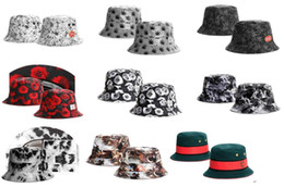 Wholesale drop ship New Summer Casual Sun Protection Fishing Cap Letter Vintage Bucket Hat Hip Hop Sunbonnet Chapeau Bob Women Man