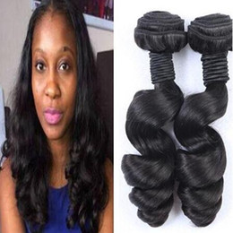 sexy Unprocessed Brazilian Aunty Funmi Virgin Hair Weaves,Romance Sprial Curly Human Hair Weft,Natural Black Aunty Fumi Hair Extension