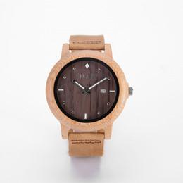 Quartz watch man watches woman watches wood watch Business watch