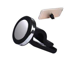 Acheter en ligne Vent mount gps-Vente en gros-voiture universelle Air Vent téléphone support Support Magnetic suporte celular pour iPhone 6 7 plus samsung GPS