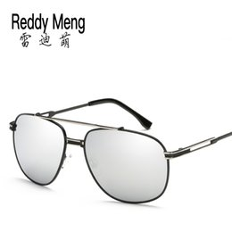China hot sale brand Reedy Meng New fashion high quality and cheap promotional full retro sunglasses men and women ariators round trend men