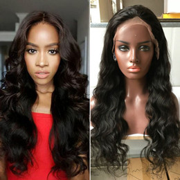 Peruvian Human Hair Full Lace Human Hair Wigs Body Wave Best Lace Front Wig Black Women Full 130%Density