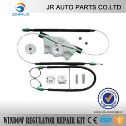 Wholesale window regulator repair kit VW MK4 GOLF BORA WINDOW REGULATOR REPAIR KIT METAL CLIPS DOOR FRONT RIGHT SIDE