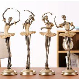 European beauty figure ornaments Ballet girl Living room, TV cabinet, wine cabinet decorations Home accessories Handicraft resin
