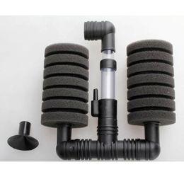 Wholesale Hot Sale Practical Noiselessly Aquarium Sponge Filter Fish Tank Air Pump Air Filter Aquariose Accessories