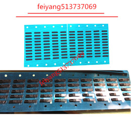 500pcs New Earpiece Speaker Anti Dust Net Mesh Rubber Holder with Adhesive For iPhone 4 4s 5 5c 5s SE