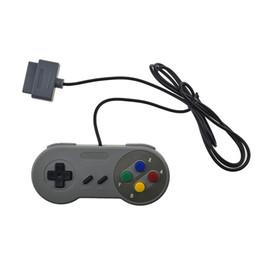 Pc joystick en venta-Controlador retro de la PC del regulador de USB / NES Gamepad jogo Controlador de la palanca de mando para Super Nintendo SF para SNES Windows MAC
