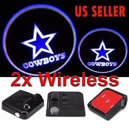 Wholesale Dallas Wireless Car led door projectors led ghost Shadow light