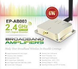 Wholesale EDUP EP AB003 Ghz W Wifi Wireless Broadband Amplifier Router Power Range WiFi Signal Booster