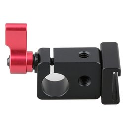 Wholesale CAMVATE Cold Shoe Rod Clamp Adapter fr DSLR Rig Camera Cage Video Light Micro