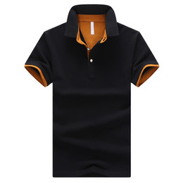 Brands Mens POLO Shirts 95% Cotton Business Short Sleeve Polo Solid Color Jersey Male Casual Polo Shirt Big Size 4XL 9 Colors