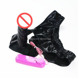 fetish vibration dildo panties pants with penis butt plugs anal plug chastity stopper underwear sex toys products for women GN322410002
