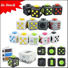 Wholesale 2017 New Popular Decompression Toy Fidget cube the world s first American decompression anxiety Toys In stock