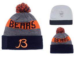 Wholesale new style football Chicago Beanies Winter High Quality Bears Beanie For Men Women Skull Caps Skullies Camo Knit Cotton Hats