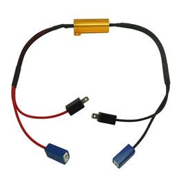 Descuento las luces de carga FEELDO Car H1 / H3 LED Luz de Niebla DRL Luz de Conducción Canbus 50W Resistor de Carga Cancelación de Cableado Canbus ERROR FREE Decoders Wirings # 5333
