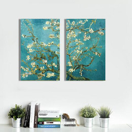 Apricot Hand Painted Oil Painting On Canvas For Living Room Wall
