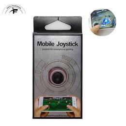 Argentina Hot Joystick Teléfono Móvil Joy Controlador Dual-Stick Popular Popular Mini Roker Sucker Alegre Juego Accesorios Para Smartphone cheap games for mobile phones Suministro