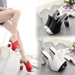 Wholesale New Fashion ladies on the high heeled shoes with high heeled shoes with the sandals beauty girl
