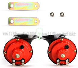 Wholesale Hot V Waterproof Snail Horn Loud Car Auto Electric Bass Vehicle Sound Level db Whistle Horn V TYPER Multi tone Claxon MYY