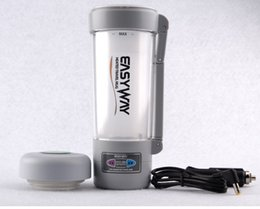 Wholesale Tea Coffee Milk Auto Thermal Travel Cup Vehicle V Car Adaptor Electric Thermos Bottle Heating Mug Boiling Water