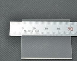 clear quartz glass plate 25x25x0.2mm