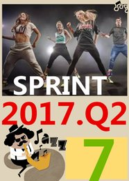 ON Top-sale 2017.4 April Q2 New Routine SPRINT 07 HIIT 30 Minutes Exercise Fitness Indoor Bicycle SPRINT07 SP07 DVD video + CD music