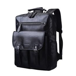 Wholesale- Sacs à dos en cuir pour hommes de qualité Sacs pour lycéens Homme Noir Marron Couleur Mode Voyage Sacs à dos Sac SG1418 à partir de hommes bruns sacs à dos fabricateur