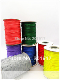 Wholesale 1.5mm Polyester Waxed Cord Wax Thread+-200m Roll Diy Jewelry Findings Accessories Hats Bracelet Necklace Wire String